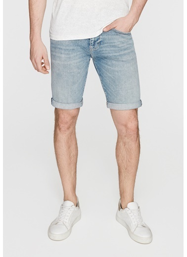 Mavi Tim Vintage Mavi Amerika Jean şort İndigo